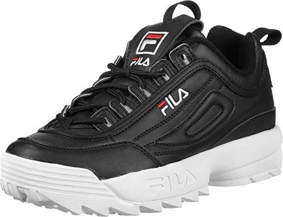 c3771a709134b Tenis Zapatillas Fila Disruptor Low Negra Mujer Envio Gratis ...