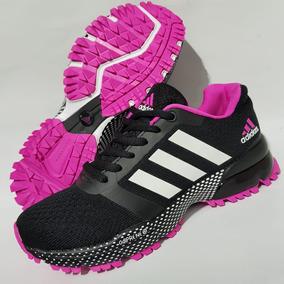 adidas zapatos mujer negros