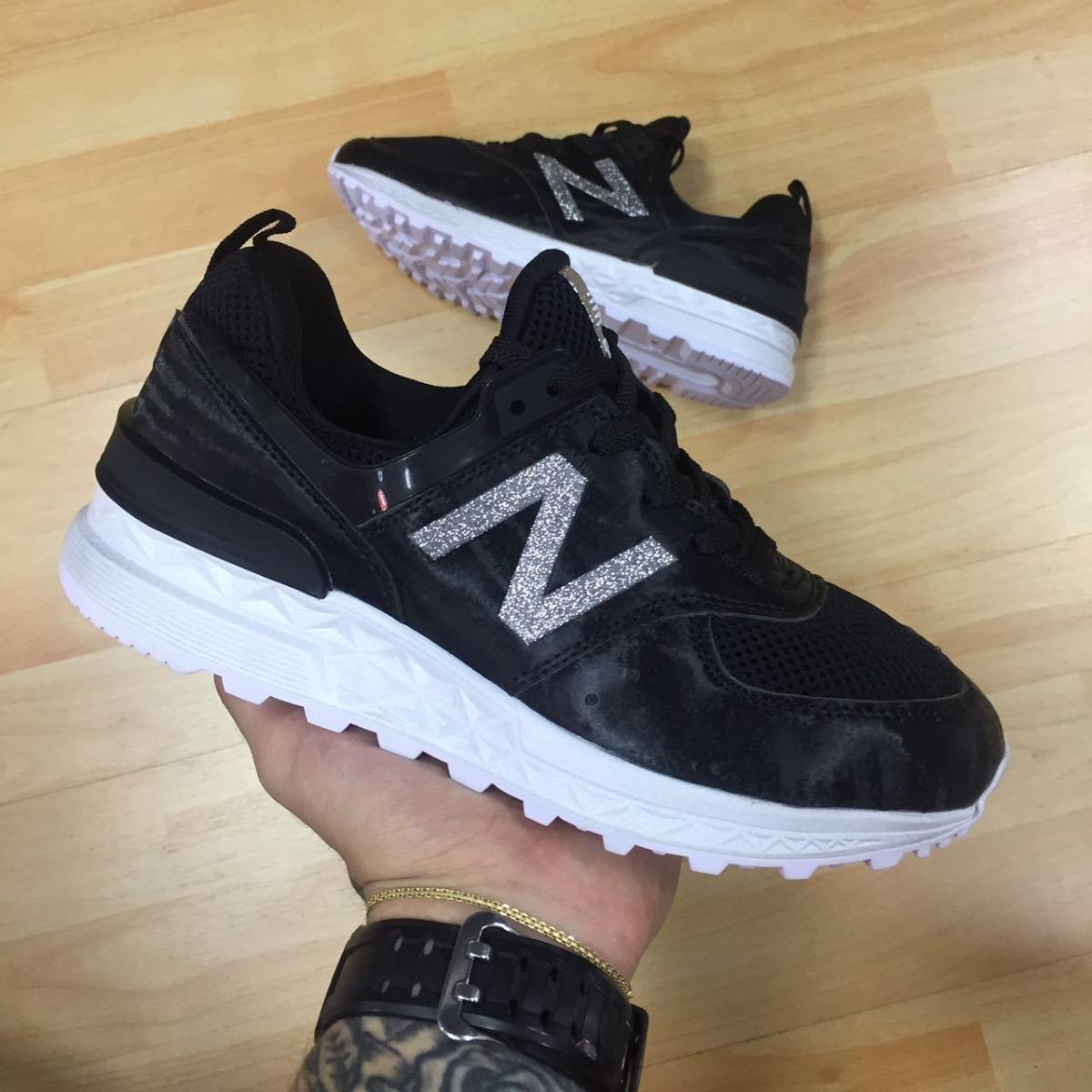 Tenis Zapatillas New Balance 530 Negra Blanca Mujer Env Gr