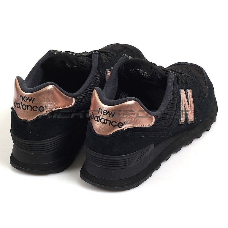 new balance mujer negras zapatillas