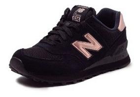 zapatillas mujer new balance negras con dorado