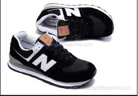 new balance 574s hombre negras
