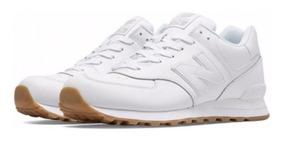 zapatillas new balance hombres 574 blancas