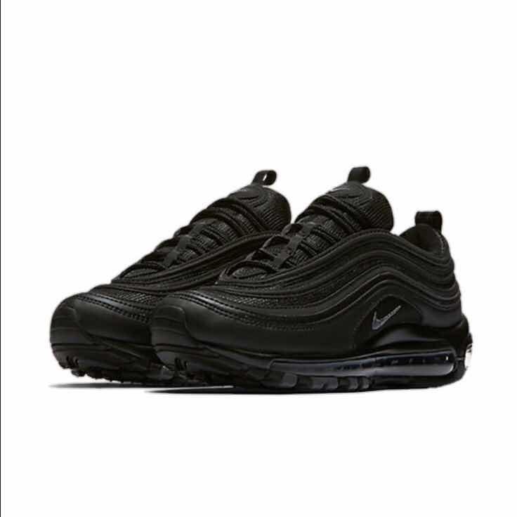 best service 855d5 fea07 tenis zapatillas nike 2000 air max 97 negros, hombre y mujer