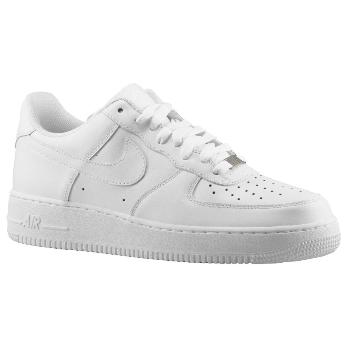 Tenis Zapatillas Nike Air Force 1 Blancas Hombre Envió Grati