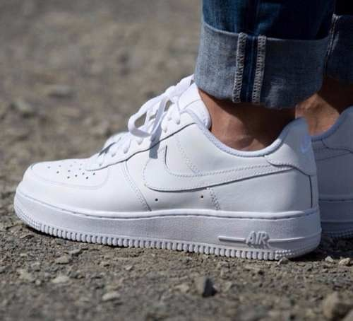 ad35331ccd2 Tenis Zapatillas Nike Air Force One Blanca Mujer Y Hombre ...