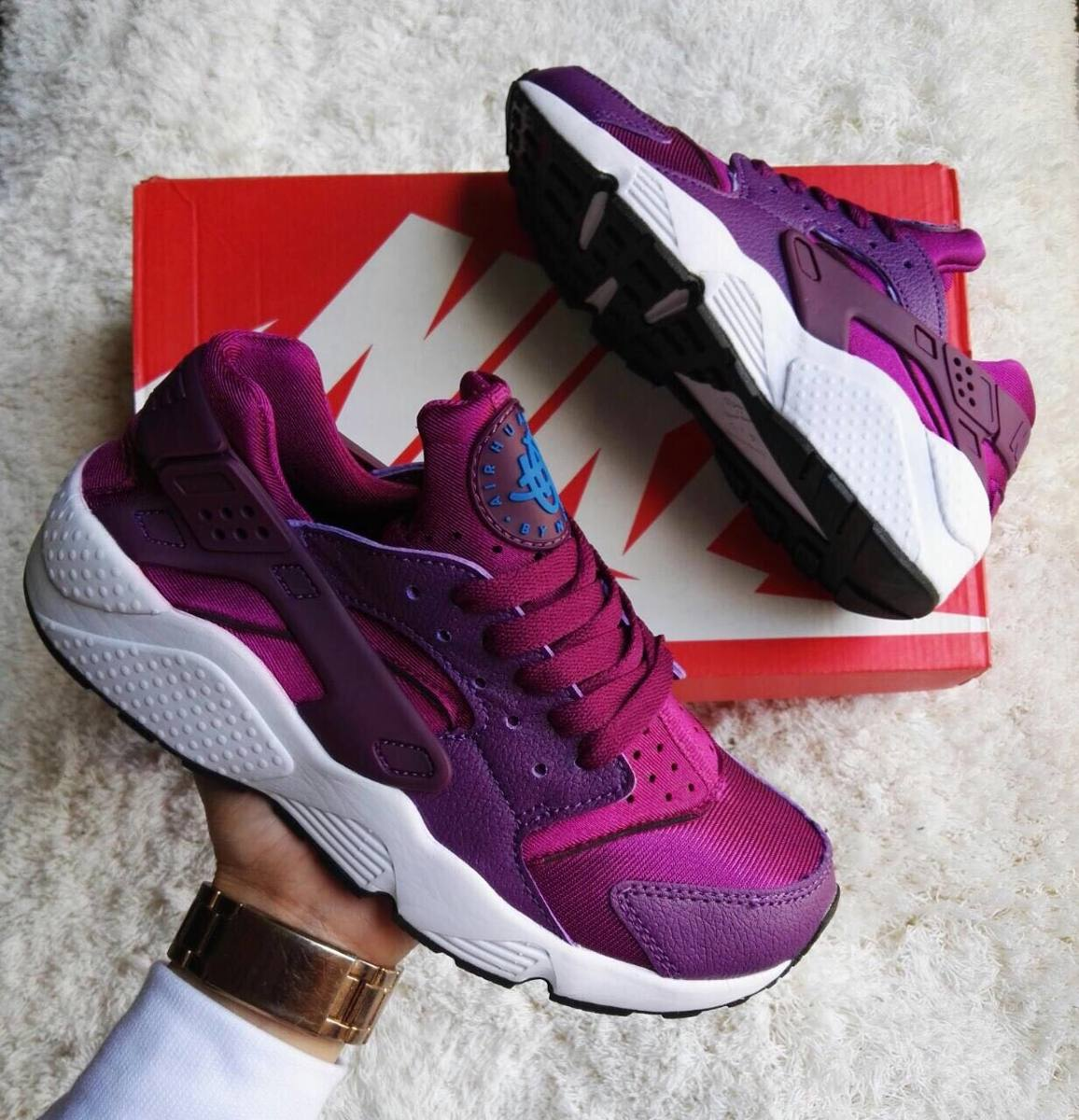 nike air huarache purpura