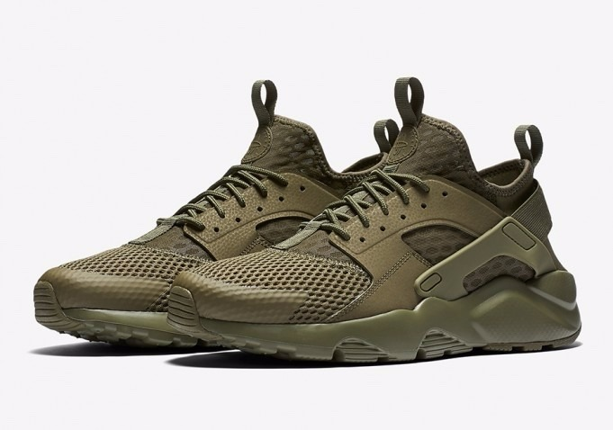 Nike Air Huarache verde
