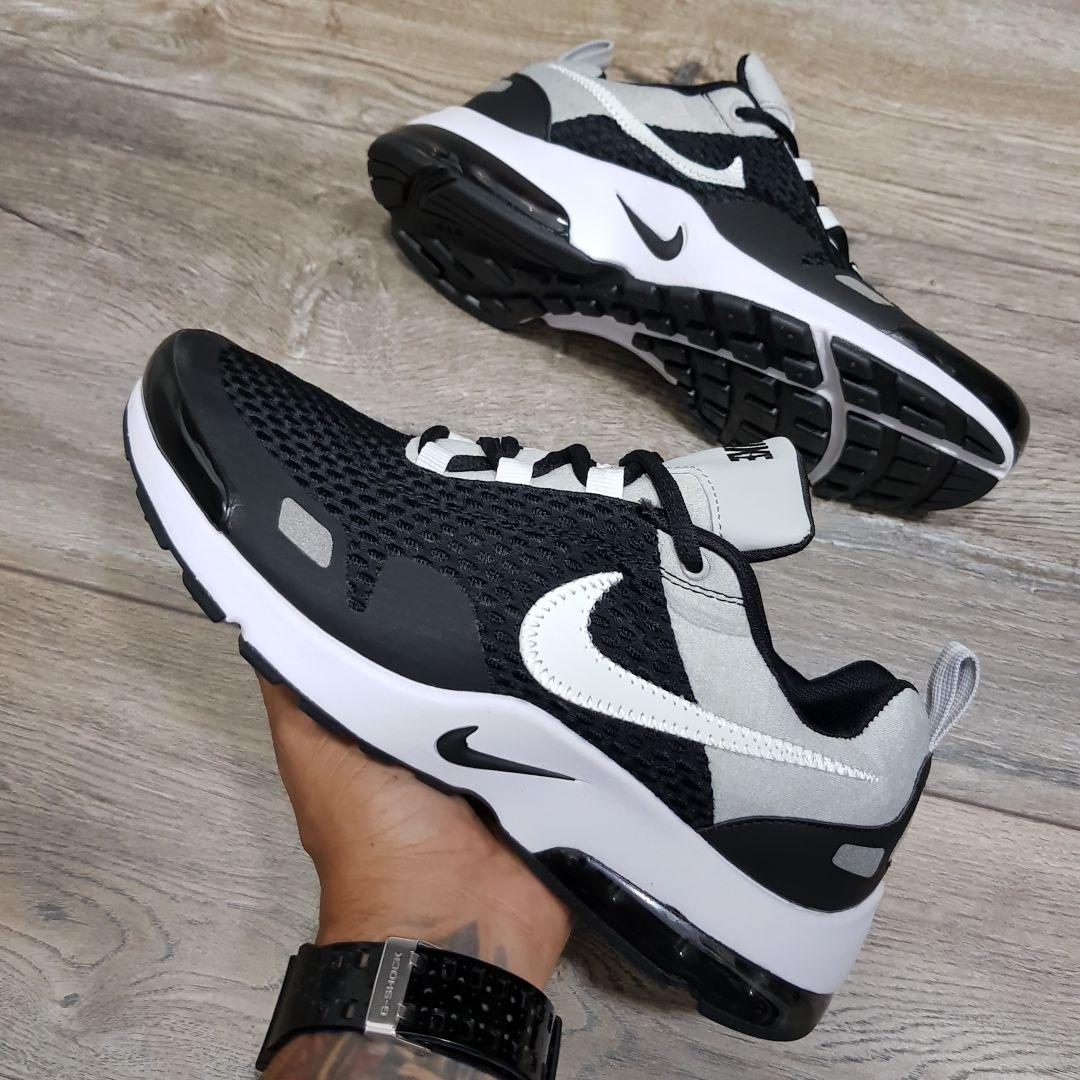 new arrival 21e9a 02292 Tenis Zapatillas Nike Air Max 180 2018 Negras Hombre Indcy