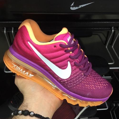 tenis zapatillas nike air max 2017 fucsia mujer envio gratis