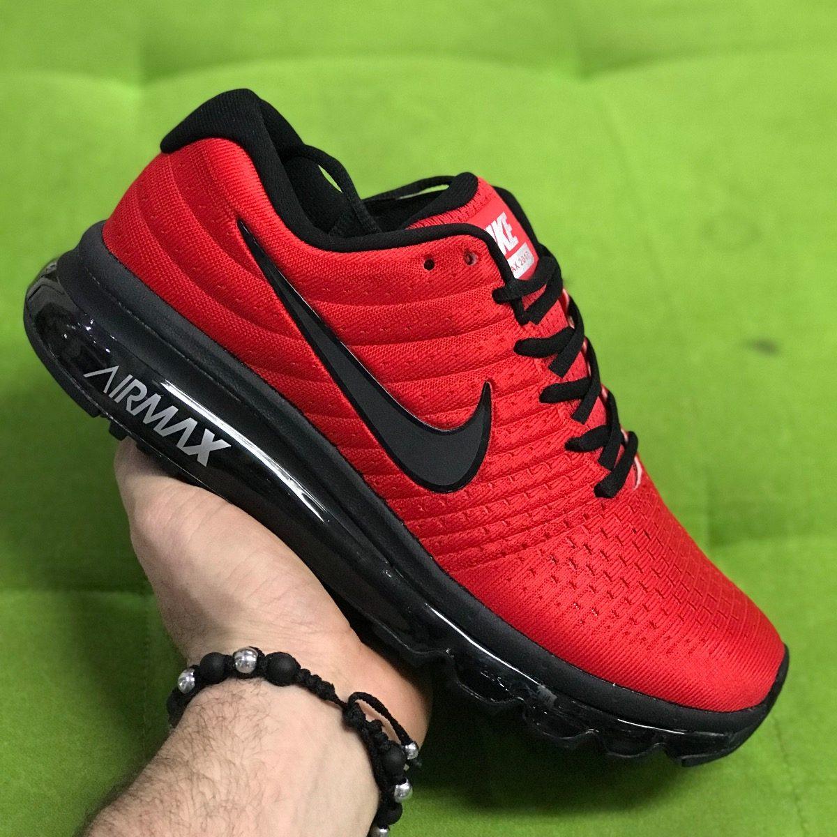 994cb0d3ec722 ... new zealand tenis zapatillas nike air max 2017 negra roja hombre. cargando  zoom. bf746