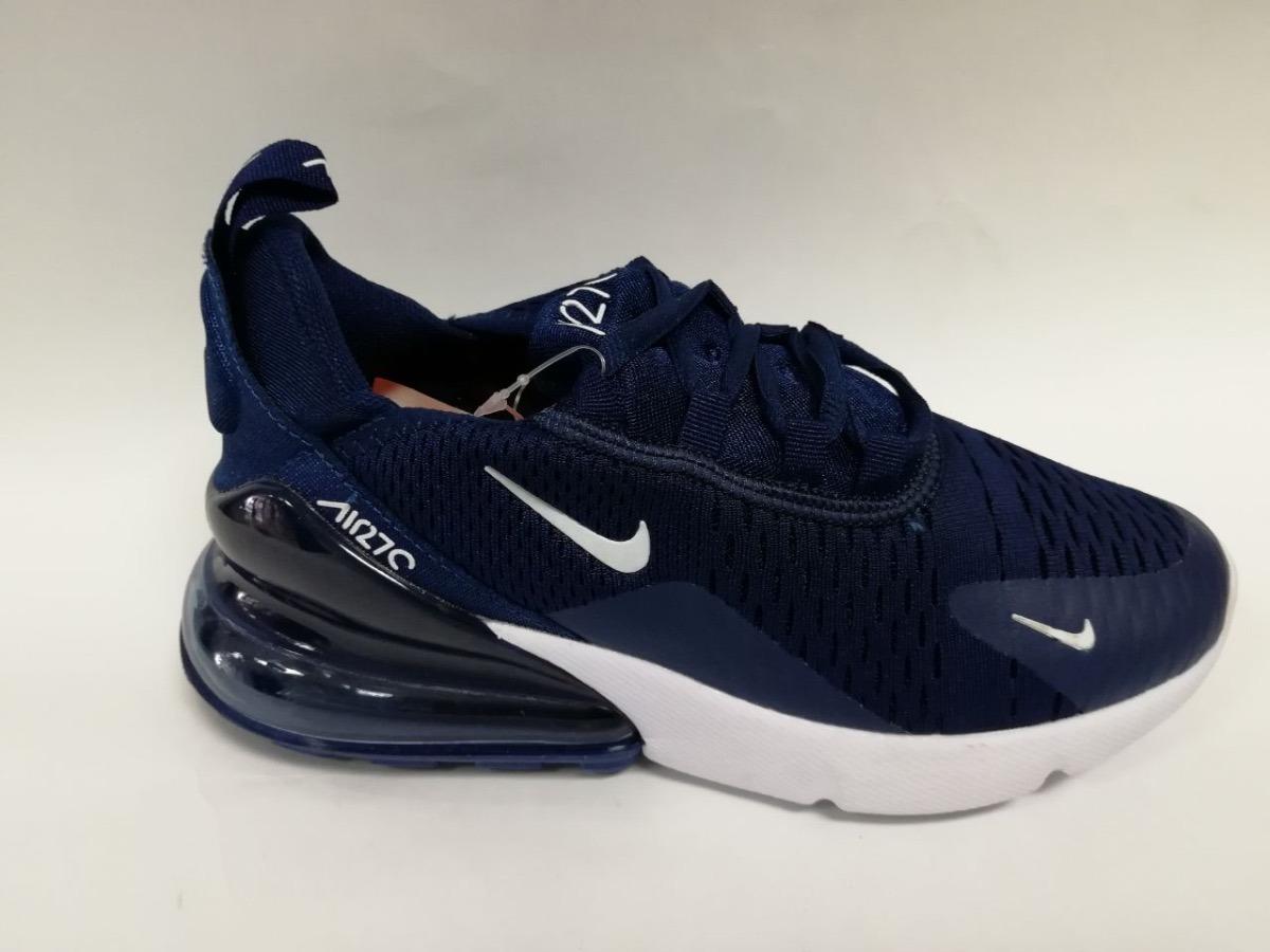 334062fb2088c ... closeout tenis zapatillas nike air max 270 azul blanca hombre en. cargando  zoom. ede89