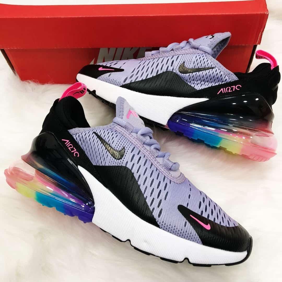 Tenis Zapatillas Nike Air Max 270 Dama Varios Colores