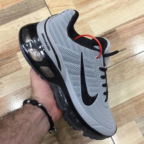 tenis zapatillas nike air max 360 gris hombre env gr