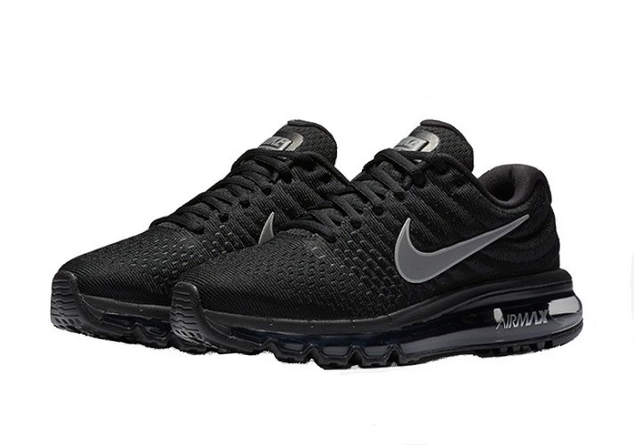 Tenis Zapatillas Nike Air Max 360 - Negro Gris Hombre 2018 ... cb030486d366c
