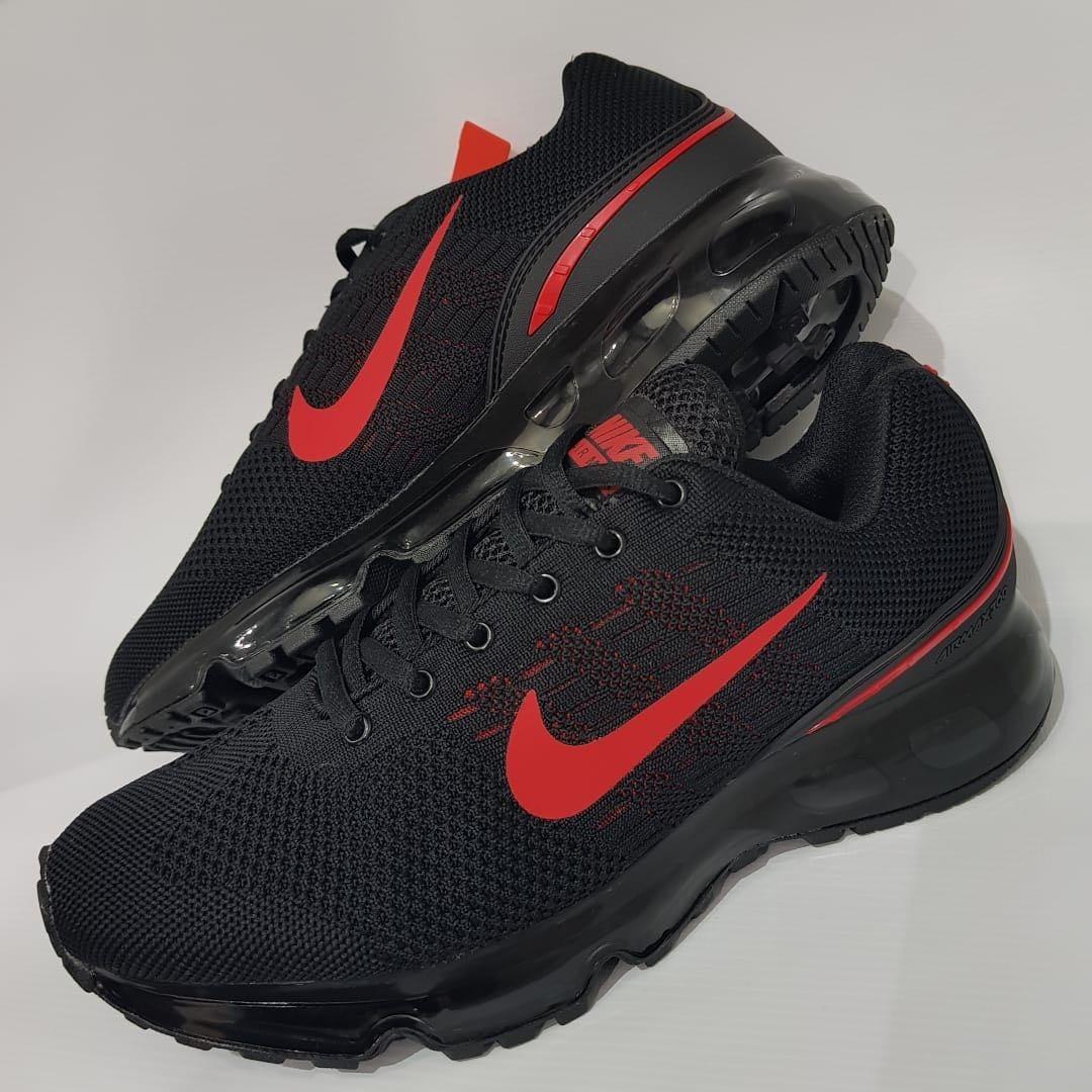 zapatillas nike air max hombre rojas