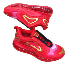 Tenis Zapatillas Nike Air Max 720 Red Gold - Dama