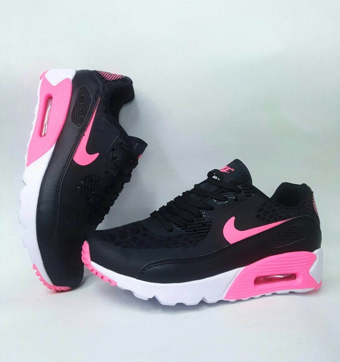 46fafbcbed6 coupon for tenis zapatillas nike air max 90 negra fucsia mujer. cargando  zoom. 1d42d