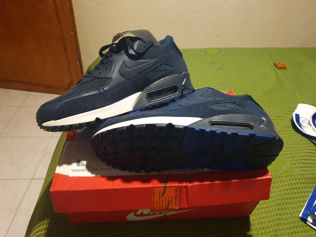 Tenis Zapatillas Nike Air Max 90 Para Hombre 100% Originales