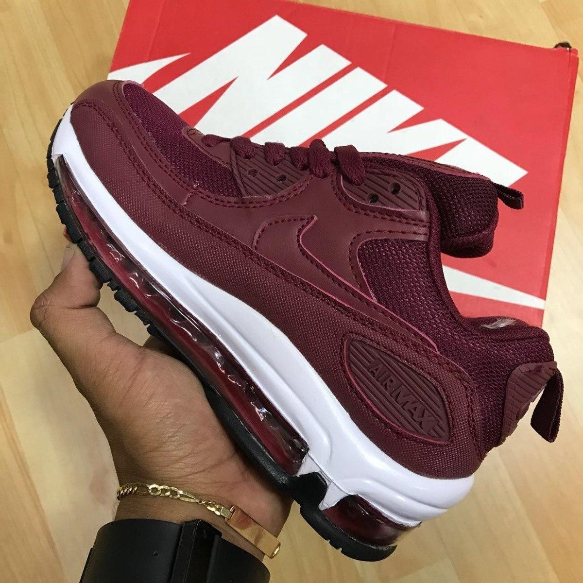 new concept 1e3cf d2e76 ... usa tenis zapatillas nike air max 90 recamara vino tinto hombre. cargando  zoom. 4d2a4