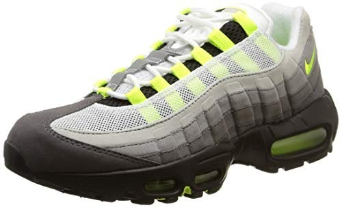 Zapatillas Nike 95 Air Hombre Tenis Verde Gris Max T3uKclFJ1