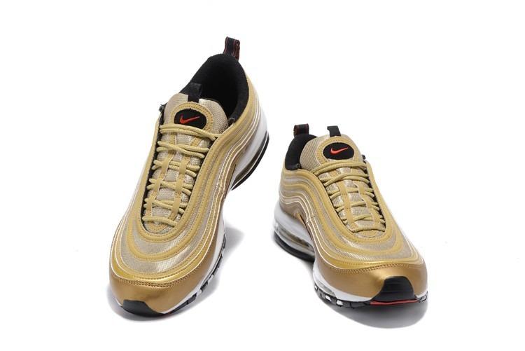 Tenis Zapatillas Nike Air Max 97 Dorada Hombre Indicy Env Gr