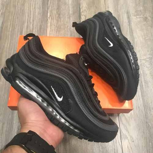 new style fbf74 d3225 ... discount tenis zapatillas nike air max 97 negra plateada hombre 1fe2f  5aac4
