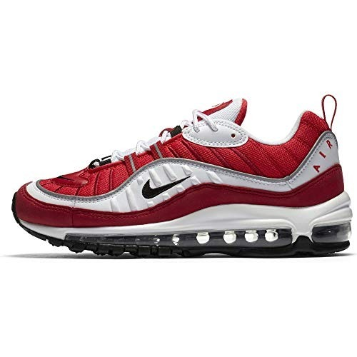 9f804d10e67 Blanca Nike Hombre Tenis Air Gunam Max 98 Zapatillas Roja TCSwqxU