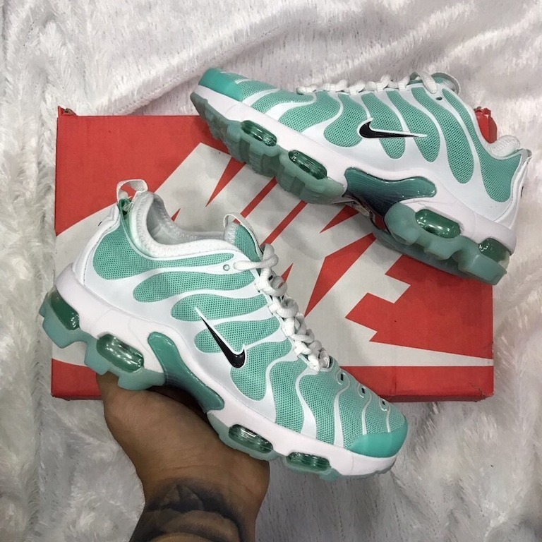 reputable site 2ede3 6affb ... italy tenis zapatillas nike air max plus tn verde blanca mujer 2e163  f0ebe