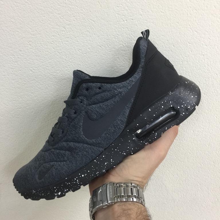 zapatillas nike air max negras hombres
