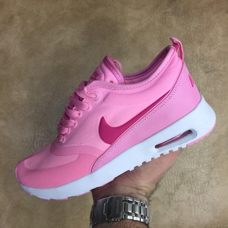 promo code mujeres nike air max thea rosado rojo 71c58 9cfec