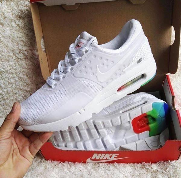 zapatillas nike air max hombres blanca
