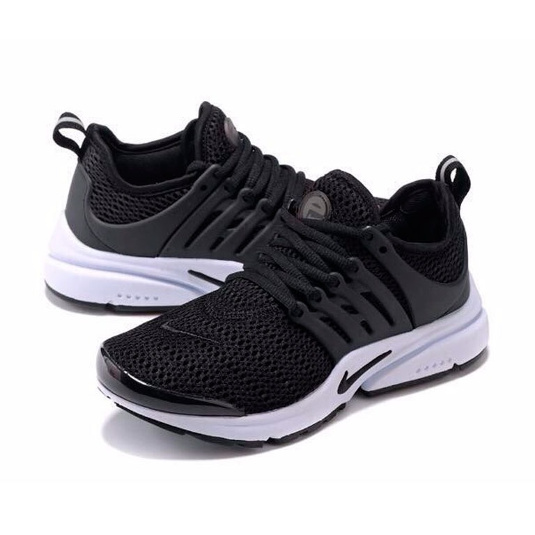 premium selection 94dc7 fa606 tenis zapatillas nike air presto custom negra blanca mujer