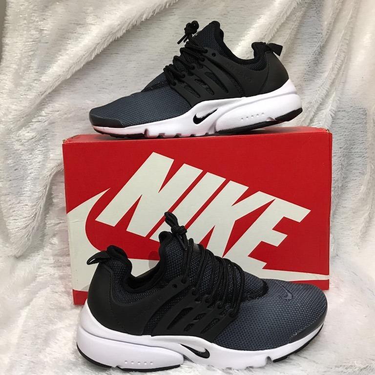 Tenis Zapatillas Nike Air Presto Custom Negra Hombre Env Gr ... a979507620cff
