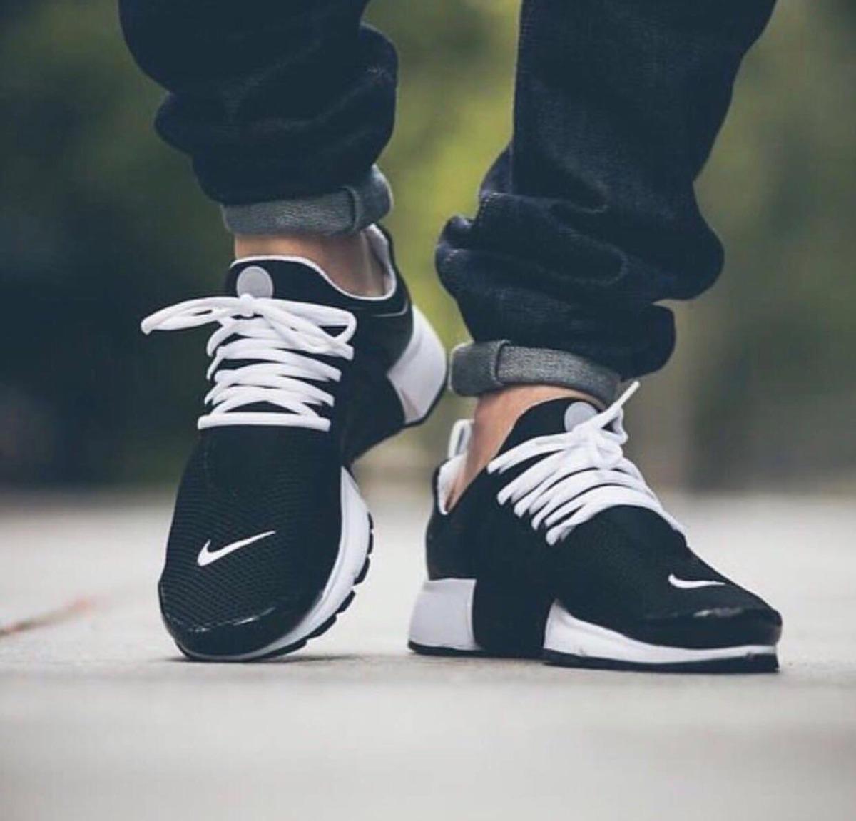 tenis zapatillas nike air presto custom negra mujer env gr. Cargando zoom. c63041f8f81a6