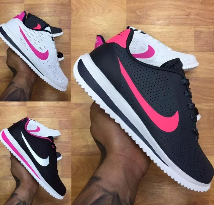 zapatillas nike cortez mujer rosa