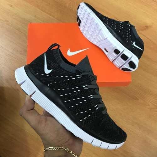 huge discount f791e 63591 ... low price tenis zapatillas nike free flyknit 5.0 negro blanco mujer  12372 c76a5