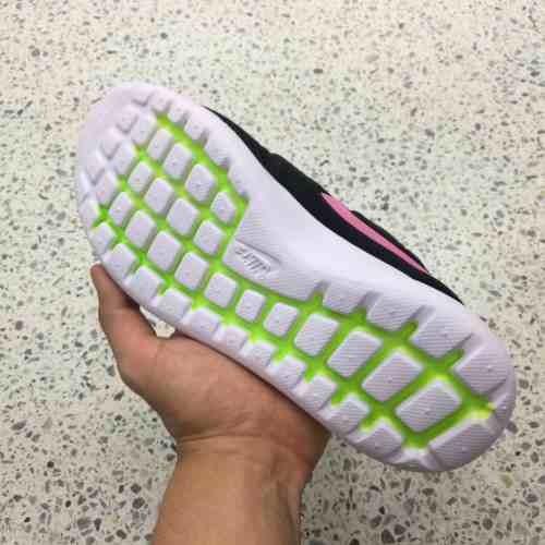 Tenis Zapatillas Nike Roshe Two Negra Rosa Mujer Envio Grati