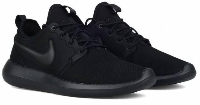Tenis Zapatillas Nike Roshe Two Negras Hombre Indicy Env Gra
