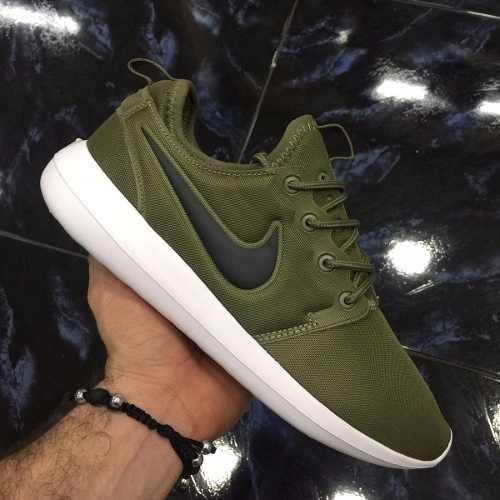 zapatillas nike verde militar hombre