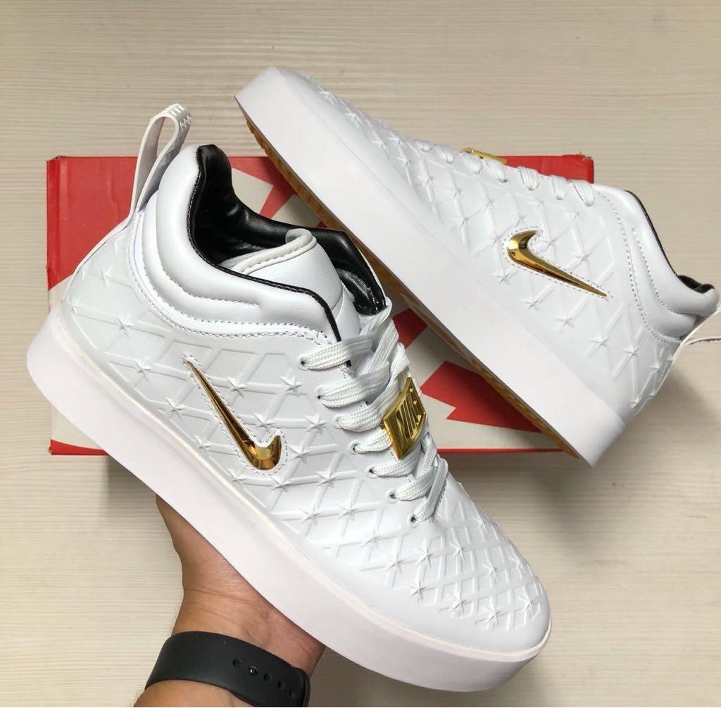 Tenis Zapatillas Nike Tiempo Vetta Blanca Hombre Env Gr -   144.900 ... 636362a56cf5f