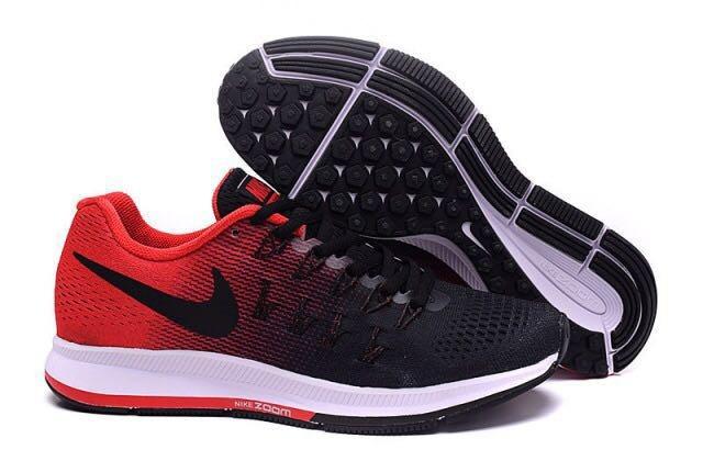 ff30c7db71258 Tenis Zapatillas Nike Zoom Pegasus 33 Negra Roja Indicy -   149.900 ...