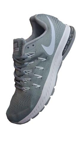 4c43ed986f89e Tenis Zapatillas Nike Zoom Pegasus 33 Plateado Hombre 2018 ...
