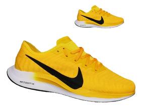 2zapatos nike amarillos hombre