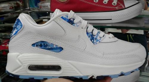 tenis zapatillas nikea air max 90 para caballero