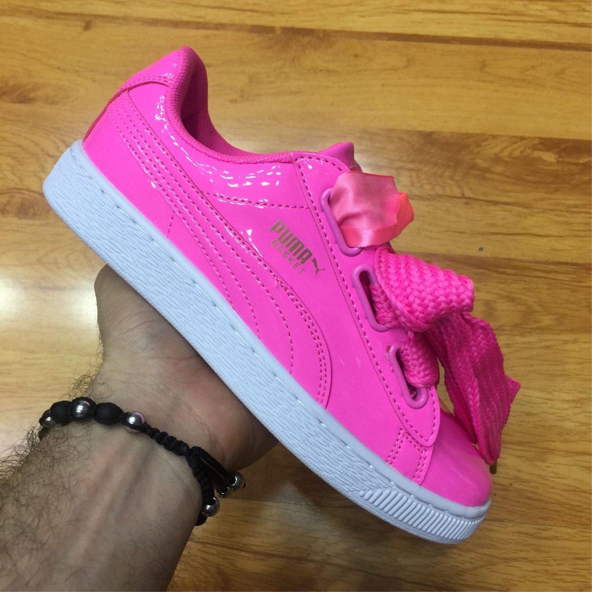 zapatos tenis de mujer puma basketball