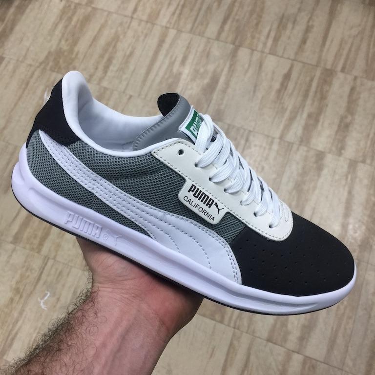 puma gris hombre zapatilla