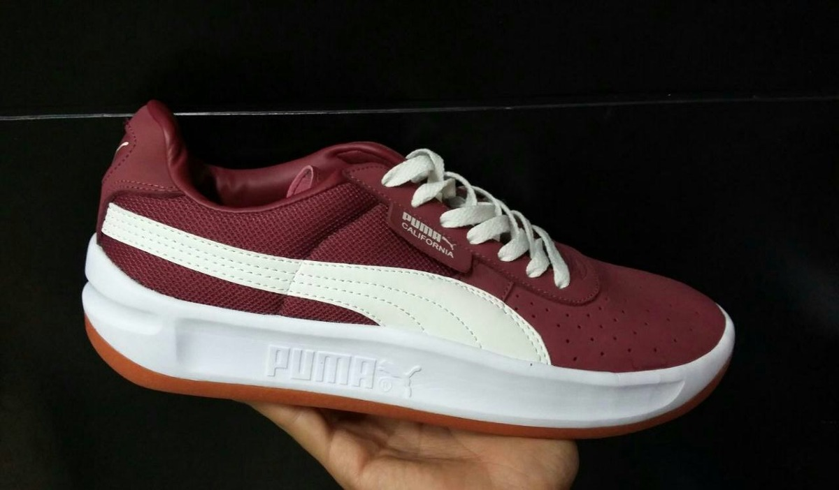 ... Tenis Zapatillas Puma California Vinotinto Hombre Env Gr - 139.900 en  Mercado Libre 63f43846f95937 ... b32b78ea98499