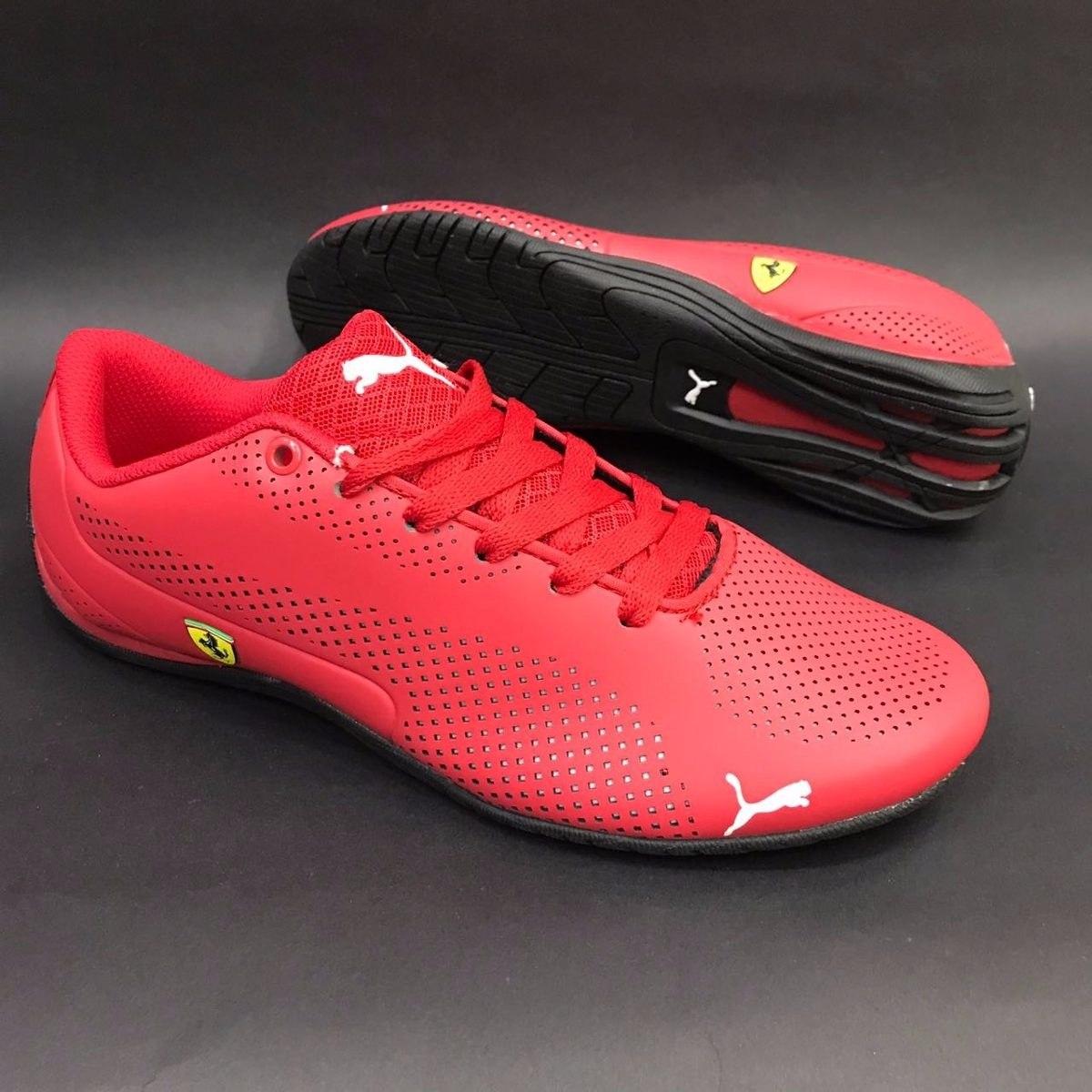 Tenis Zapatillas Puma Ferrari Roja Hombre Envio Gratis