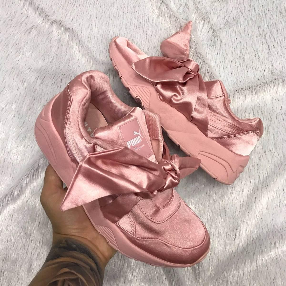 bambas puma rosas mujer